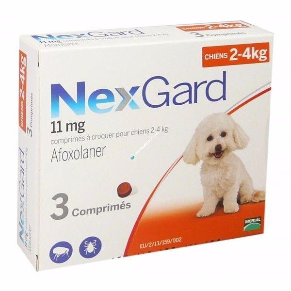 Nexgard 11mg - S -2-4 kg