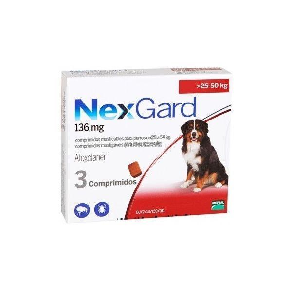 Nexgard 136mg - XL - 25-50 kg