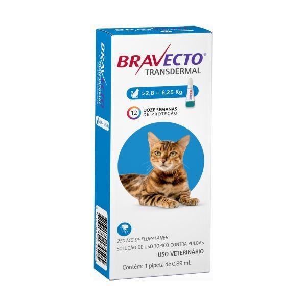 Bravecto Gato 2,8-6,25Kg
