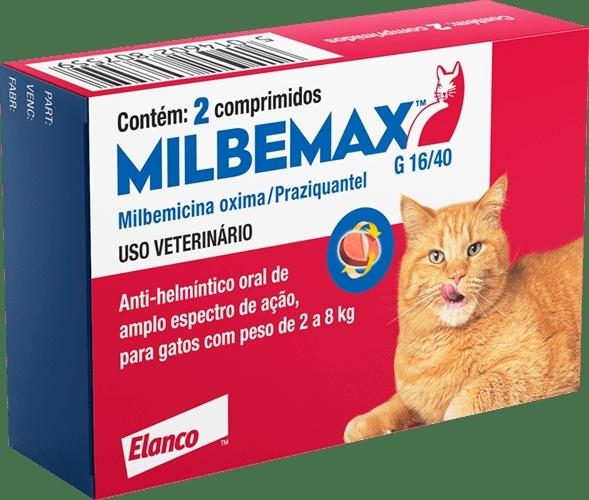 Milbemax gatos