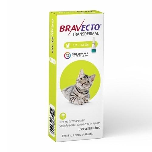 Bravecto Gato 1,2-2,5 Kg